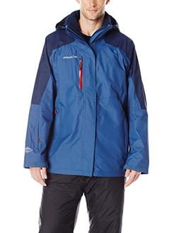 Columbia Men's Powderkeg Interchange Jacket, Night Tide/Coll