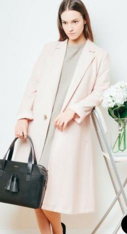 SALE Long Pink COAT Women For Winter, Shipping from UK Size