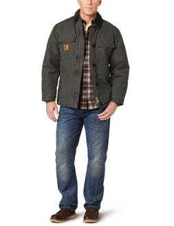Carhartt Sandstone Traditional Arctic Quilt-Lined Coat for M