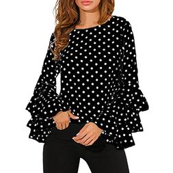Wintialy Women Shirt, 2017 Big Promotion! Women's Bell Sleev
