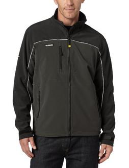 Caterpillar Soft Shell Jacket, Graphite/Black, Medium