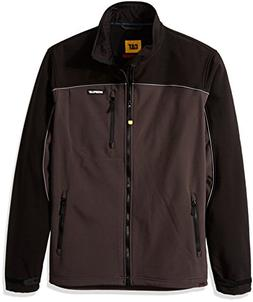 Caterpillar Soft Shell Jacket, Graphite/Black, X-Large
