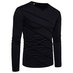 BeautyVan Mens Solid Tops, New Hot Fashion Men's Autumn Wint