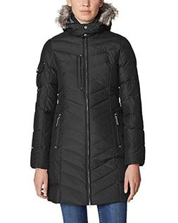 Eddie Bauer Women's Sun Valley Down Parka, Black Regular S R
