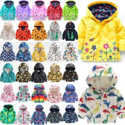 Toddler Baby Girls Kids Hoodie Jacket Coat Winter Warm Outer