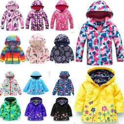 toddler boys girls hooded coats jackets snow