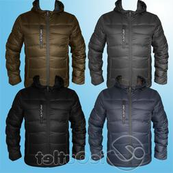 NAUTICA ULTRALIGHT DOWN WATER RESISTANT PUFFER QUILTED HOODE