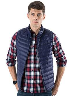 CHERRY CHICK Men's Ultralight Packable Down Vest