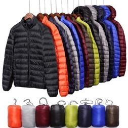 UNQLO'S FACTORY SALE Men Lightweight Down Jacket Ultralight