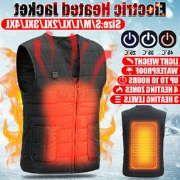 unisex electric heated vest winter fast warm