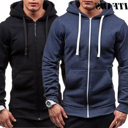 us fashion men s thick zip up