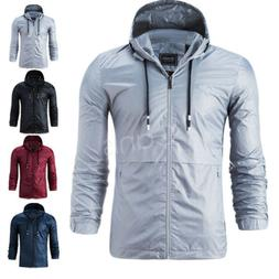 US Winter Sweater Mens Hooded Outdoor Waterproof Windproof C