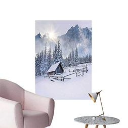 Wall Stickers for Living Room Farm by Winter Season Times in