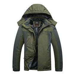waterproof ski jacket insulted fleece