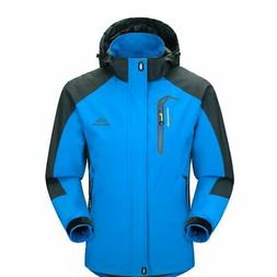 Waterproof Windproof Men Warm Coat Snow Winter Jacket Outwea