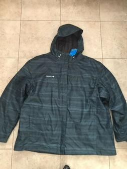COLUMBIA WHIRLIBIRD INTERCHANGE PLAID WINTER MENS SKI JACKET