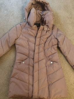 Sportoli winter coat, Size M, Dusty rose color, barely used