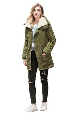 ACE SHOCK Winter Coats for Women, Winter Long Warm Faux Fur