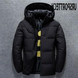 Winter Jacket Mens Thermal Thick Coat Snow Parka Warm Outwea