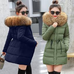 Winter Jacket Women Winter Thick Coat Fur Lady Parka Down Fe