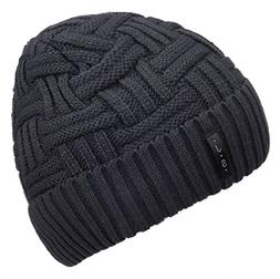 Spikerking Mens Winter Knitting Wool Warm Hat Daily Slouchy