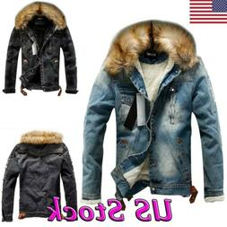 winter men s casual coat jean jacket