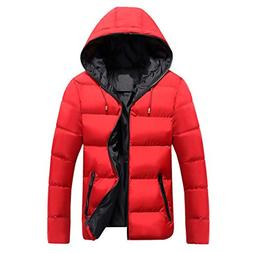 Susanny Men's Winter Fashion Thicken Outwear Down Warm Jacke