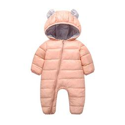 Franterd Baby Girl Boy Winter Warm Romper Snowsuit Down Jack