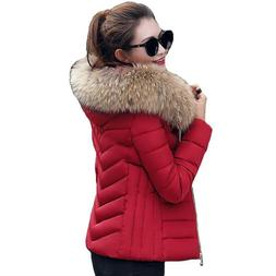 winter women plus size jackets warm fur