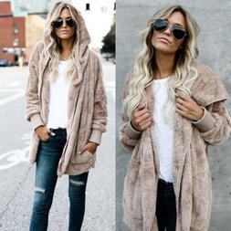 Winter Women's Long Oversized Loose Knitted Sweater Cardigan