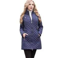 women autumn winter casual padded coats lady