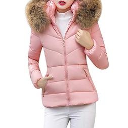 YOcheerful Women Down Coats Down Jacket Warm Winter Eiderdow