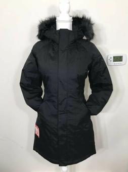 The North Face Women's Arctic Parka Down Coat TNF Black XS S