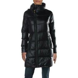 Donna Karan Women's Asymmetric Quilted Down Insulated Winter