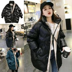 Women's Down Jacket Winter Clothes Thick Warm Puffer Coat Fe