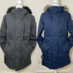 The North Face Women's Downtown Arctic Parka Down Coat Navy