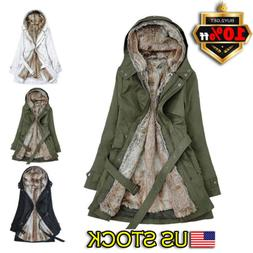 women s ladies winter long warm thick