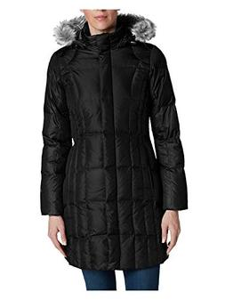 Eddie Bauer Women's Lodge Down Parka, Black Petite S Petite