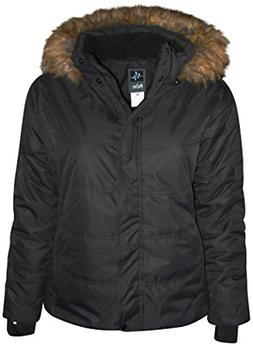 Pulse Women's Plus Extended Size Ski Coat Aspens Calling 4X,