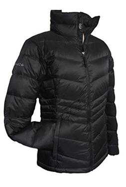 Columbia Women's Polar Freeze Short Down Jacket Omni Heat Wa