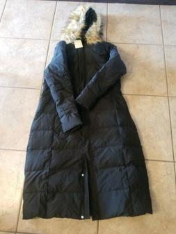 Orolay Women's Puffer Down Coat Winter Jacket with Faux Fur
