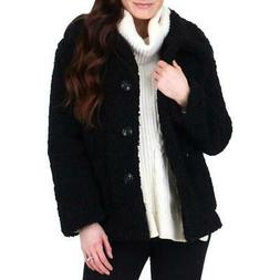 Urban Republic Women's Sherpa Warm Winter Teddy Coat