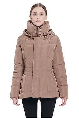 Orolay Women's Short Down Coat Winter Jacket with Removable