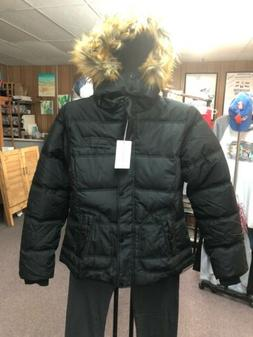 Wantdo Women's Thicken Winter Coat Classic Black Quilted Puf