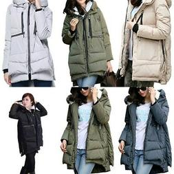 Women's Thickened Down Jacket Hooded Coat Fashion Winter 201
