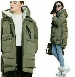 Women's Orolay Winter Down Coat/Parka  Olive ~ XL NWT