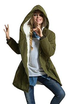 women s winter warm coat hoodie parkas