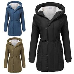 4cef377b7 Women's Winter Warm Hooded Long Jacket L...