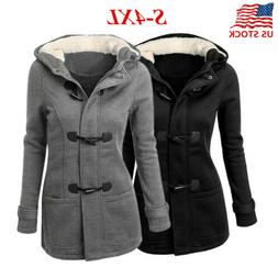 Women's Winter Autumn Hoodie Coat Ladies Long Hooded Parka J