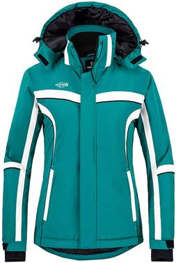 Wantdo Women's Winter Waterproof Ski Jacket Mountain Snow Wi